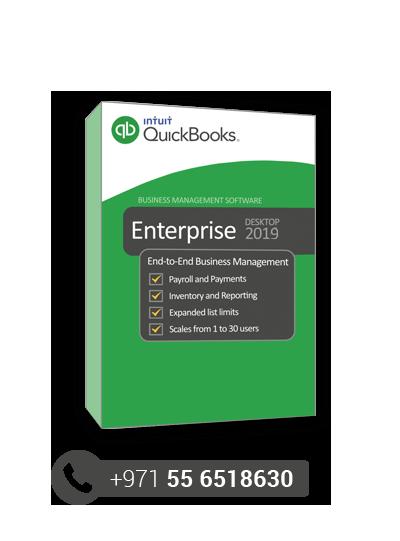 QuickBooks Enterprise Dubai, UAE - Small Business Accounting Software