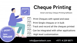 Cheque Printing Software UAE