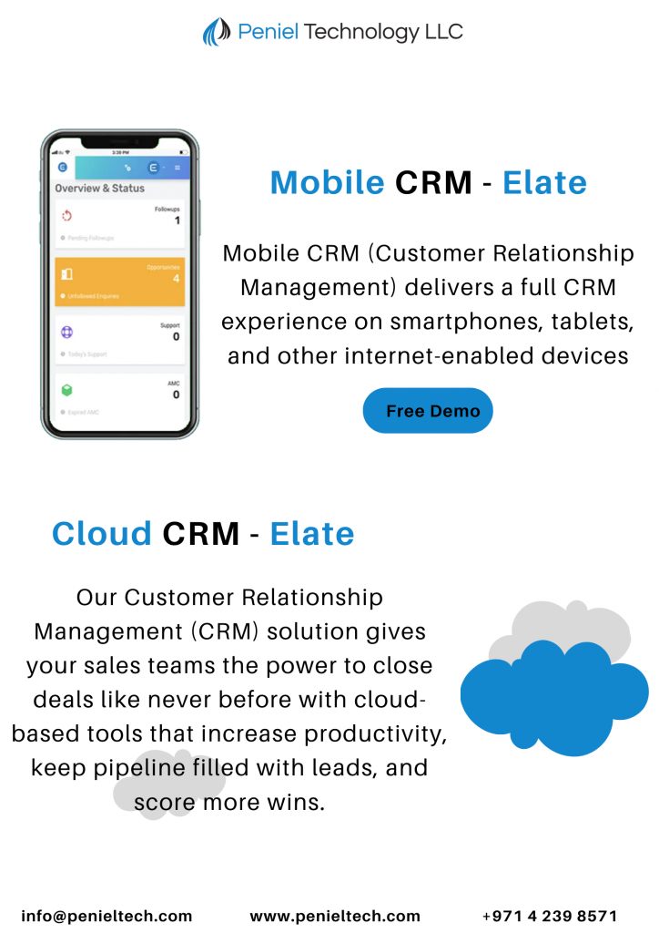 CRM Software for small Business UAE